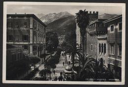 Apuania Carrara - Giardini Pubblici - Viaggiata Per Firenze Il 24.2.1939 - Autografo Aldo Toscanini - Carrara