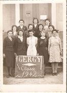 Gergy : Photo De Conscrits 1942 - Anonyme Personen