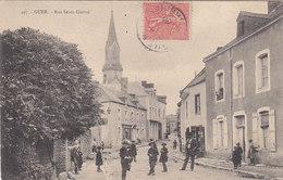 GUER : La Rue St Gurval - Guer Coetquidan