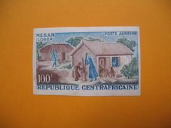 Timbre Non Dentelé  N° PA 33  Mouvement D'évolution Sociale  1965 - Centrafricaine (République)