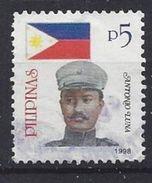 Philiippines  1998  Heroes: Antonio Luna   5p (o) - Philippines
