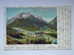 SVIZZERA Schweiz Suisse PONTRESINA Piz Palù AK Old Postcard - GR Grisons