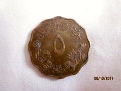 Sudan: 5 Millièmes 1968 (rare) - Soudan