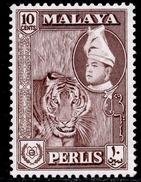 Malaya, Perlis 10с 1957 MVLH SG 34 - Perlis