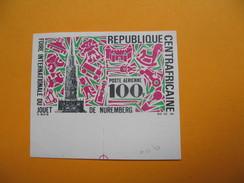 Timbre Non Dentelé  N° PA 77  Foire Internationale Du Jouet à Nuremberg   1969 - Centrafricaine (République)
