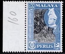 Malaya, Perlis 50с 1957 (1962) MNH SG 37a - Perlis
