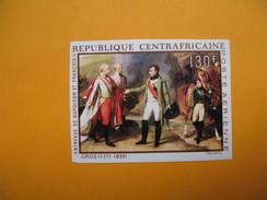Timbre Non Dentelé  N° PA 79  Bicentenaire De La Naissance De Napoléon 1 Er   1969 - Centrafricaine (République)