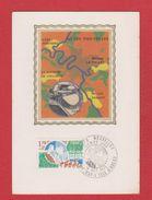 Carte Premier Jour / Villes Nouvelles / Evry  Cergy L'Isle D'Abeau / 18 Octobre 1975 - Cartes-Maximum
