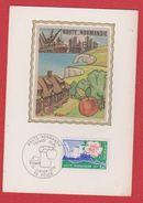 Carte Premier Jour / Haute Normandie / Rouen / 21 Janvier 1978 - Cartes-Maximum