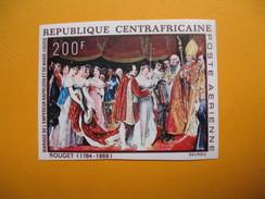 Timbre Non Dentelé  N° PA 80  Bicentenaire De La Naissance De Napoléon 1 Er   1969 - Centraal-Afrikaanse Republiek