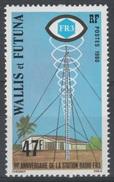 Wallis And Futuna, Radio Program, 1980, MNH VF - Wallis And Futuna