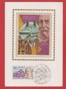 Carte Premier Jour / Théatre Du Peuple: Bussang / 9 Août 1975 - Cartes-Maximum
