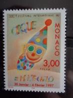 MONACO 1996 Y&T N° 2077 ** - 21e FESTIVAL INTERN. DU CIRQUE DE MONTE CARLO - Monaco