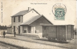 58  ALLIGNY GARE  Ligne Cosne St Amand - France