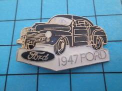 Pin713f Pin's Pins : BEAU ET RARE : AUTOMOBILES / FORD 1947 NOIRE OU BLEU FONCE - Ford