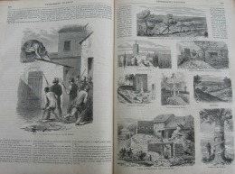 L'EVENEMENT1872N°74:MORSBRONN EBERBACH FROESCHWILLER ELSAHAUSEN/PARIS AURORE BOREALE/BENARES CHASSE AU TIGRE - Periódicos
