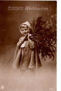 Fröhlich Weihnachten -  Kind - 1914 -  Tannenbaum - Autres