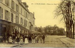 95 - L'ISLE ADAM - Place Du Patis. - L'Isle Adam