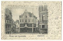 Osnabrück Nikolai-Ort 1901 - Bückeburg