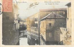Chalons-sur-Marne - Le Canal De Mau - Edition L. Coëx - Carte Colorisée - Châlons-sur-Marne