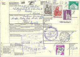 Begleitadresse  Zürich 55 Heuried - Leon Espana              1977 - Brieven En Documenten