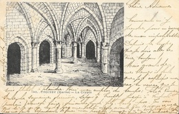 Troissy (Marne) - La Crypte (dessin à La Plume) - Phototypie R.F. - Carte N° 140 Dos Simple - Autres Communes