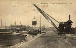 CHAUNY LA GRUB DE SAINT GOBAIN - Chauny
