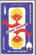 Buvard Electricité De France Gaz De France L'eau Chaude Deux Atouts Maîtres - Electricité & Gaz