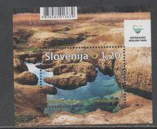 SLOVENIA, 2017, MNH, LANDSCAPES, NOTRANJSKA REGIONAL  PARK, S/SHEET - Protection De L'environnement & Climat