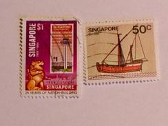 SINGAPOUR 1980-84  LOT# 1 - Singapour (1959-...)
