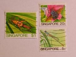 SINGAPOUR 1985  LOT# 2  INSECT - Singapour (1959-...)