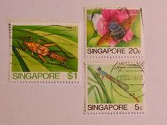 SINGAPOUR 1985  LOT# 3  INSECT - Singapour (1959-...)