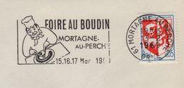 Mortagne Au Perche - Orne - Foire Au Boudin - 1969 - Marcophilie (Lettres)