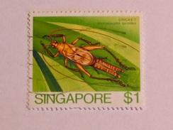 SINGAPOUR 1985  LOT# 6  INSECT - Singapour (1959-...)