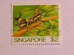 SINGAPOUR 1985  LOT# 7  INSECT - Singapour (1959-...)
