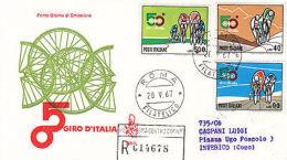 Fdc 1967 Giro D'italia - Altre Collezioni
