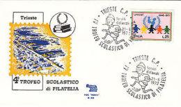 Fdc 1972 Trieste Scolastico Di Filatelia - Altre Collezioni