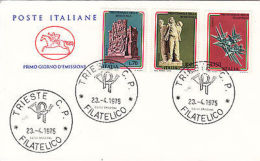 Fdc 1975 Anniversario Della Resistenza - Altre Collezioni