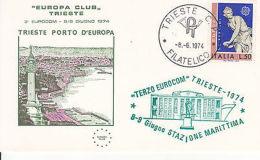 Fdc -g Trieste Porto D'europa Stazione Marittima - Altre Collezioni