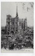 (RECTO / VERSO) AMIENS - N°  60 - VUE GENERALE PRISE DU BEFFROI - CPA  VOYAGEE - Amiens