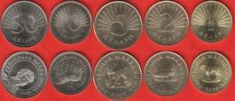 Macedonia Set Of 5 Coins: 1 - 50 Denari 2008-2016 UNC - Macedonia