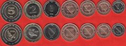 Bosnia And Herzegovina Set Of 7 Coins: 5 Feninga - 5 Km 2008-2013 UNC - Bosnia And Herzegovina