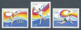 Algérie YT N°902/904 Jeux Méditerranéens De Lattaquié 1987 Neuf ** - Algeria (1962-...)