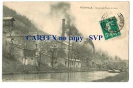 18854  Cpa TRONVILLE : Usine Des Fours à Chaux ! 1912 !    ACHAT DIRECT !! - France
