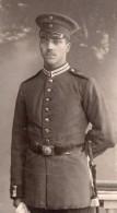 Allemagne Hannover Homme En Uniforme Militaire Ancienne Photo CDV Nolte 1900 - War, Military
