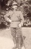 Allemagne? Homme En Uniforme Militaire Ancienne Photo CDV 1910 - War, Military