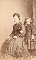 Londres Dulwich Mere Et Fils Portrait Ancienne Photo CDV Pimlico 1880 - Photographs