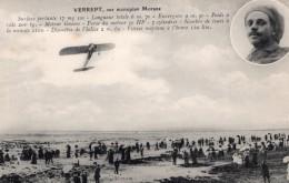France? Pilote Belge Verrept Sur Morane Aviation Ancienne Carte Postale CPA Vers 1911 - ....-1914: Precursors