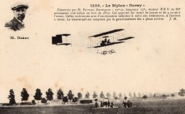 France? Pilote Belge Duray Sur Biplan Farman Duray Aviation Ancienne Carte Postale CPA Vers 1911 - ....-1914: Precursors