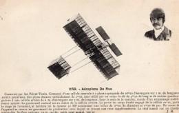 Aviation Ferdinand Ferber De Rue Avion Biplan Voisin Ancienne Carte Postale CPA Vers 1909 - ....-1914: Precursors